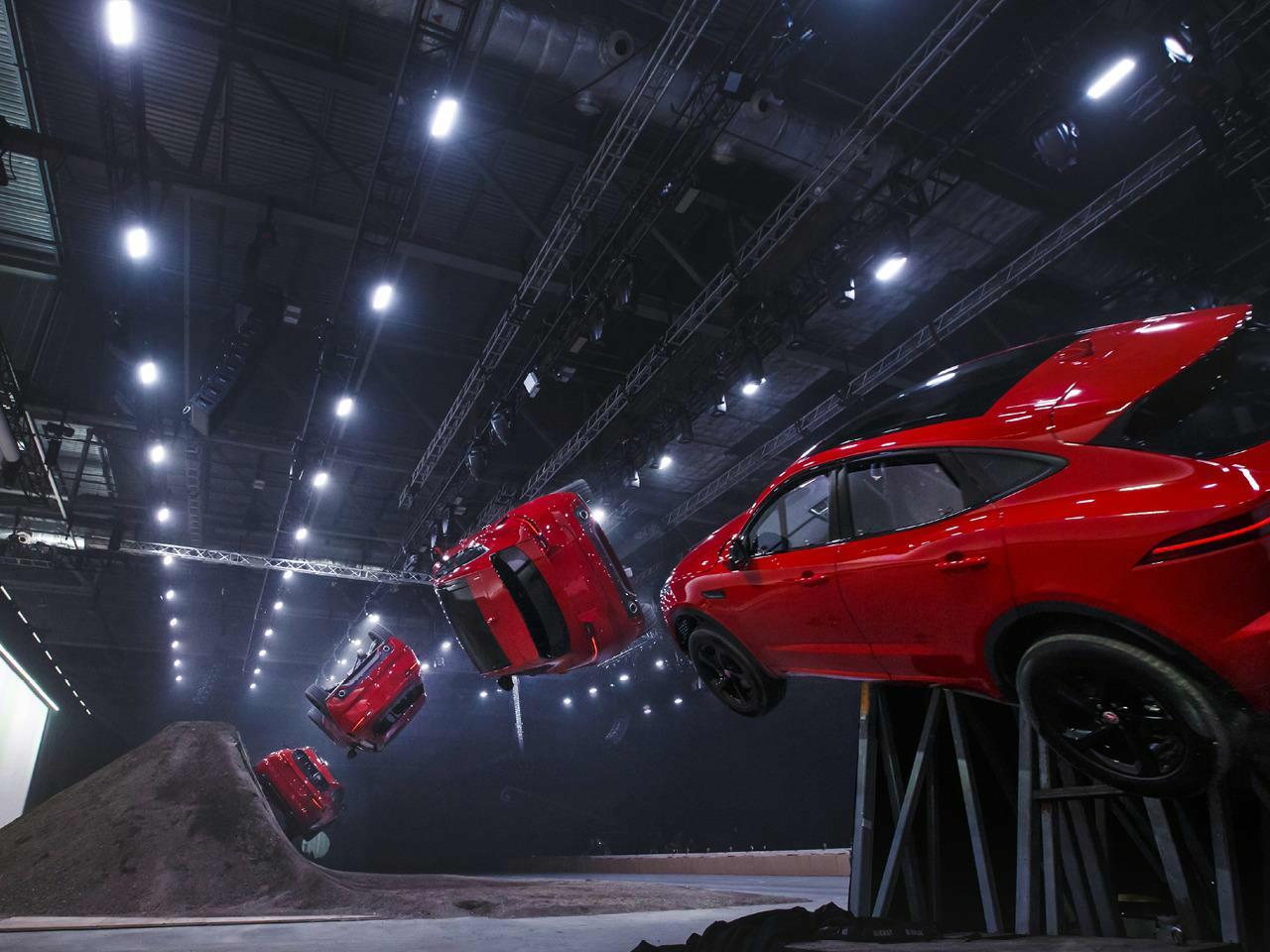 Jaguar E Pace Launch 2017