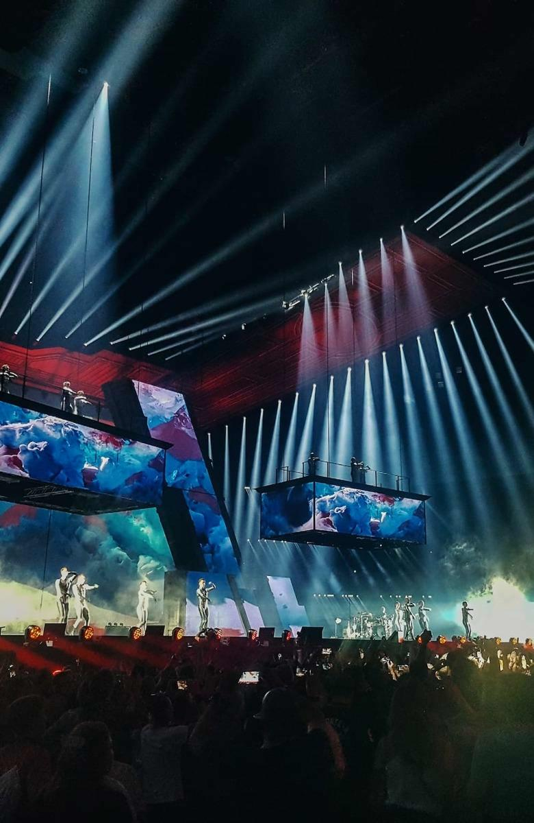 Dynamic video, LED and sound integration