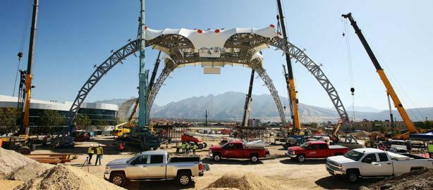 """A NEW HOME FOR THE ICONIC U2'S STAGE, """"THE CLAW"""""""