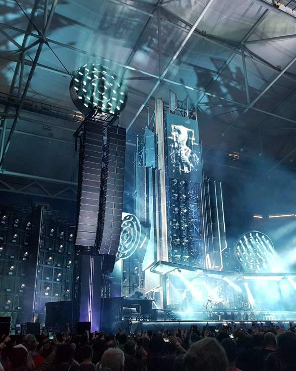 WICREATIONS debuts WIMOTION with Rammstein