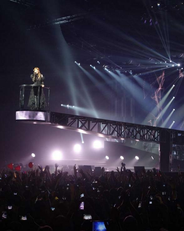 Wicreations Designs & Builds Spectacular Automated Effects for Mylène Farmer Tour