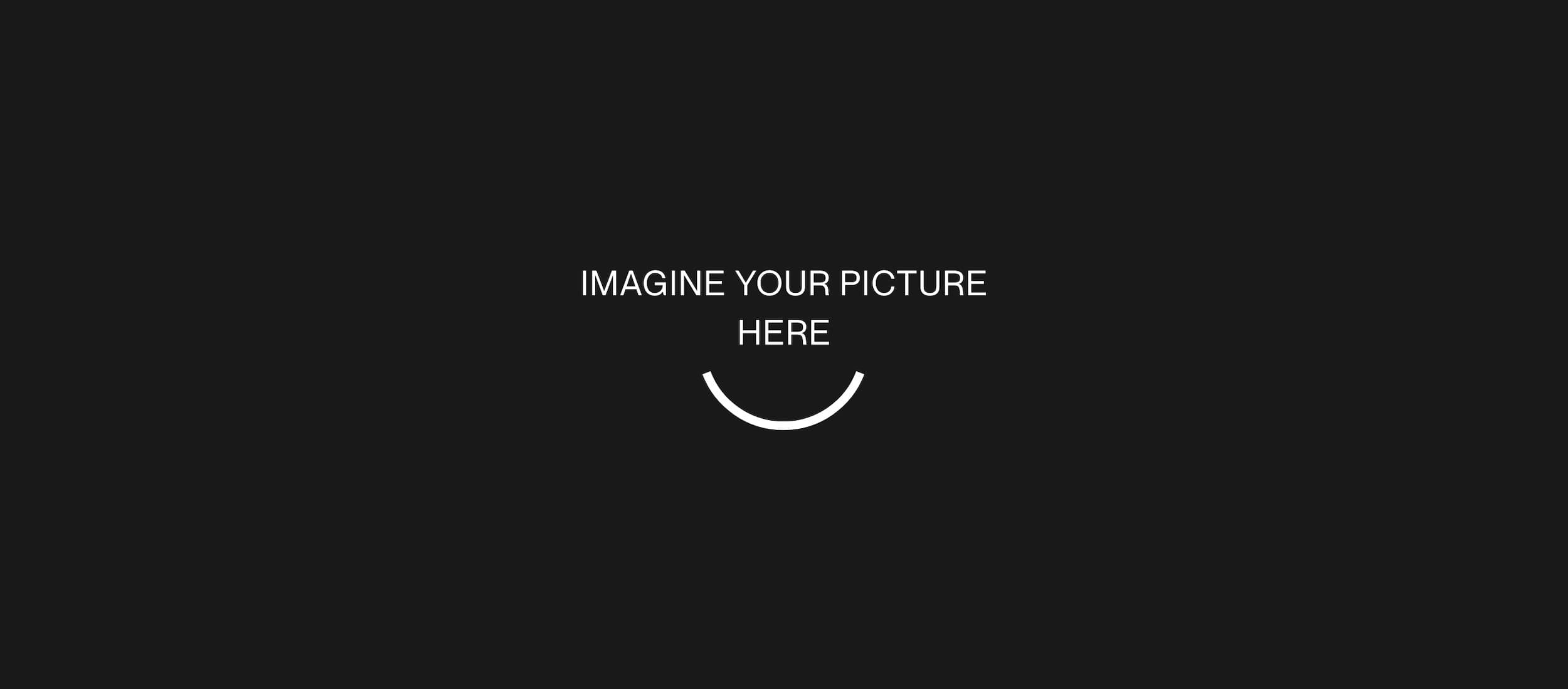Imagine your picture here